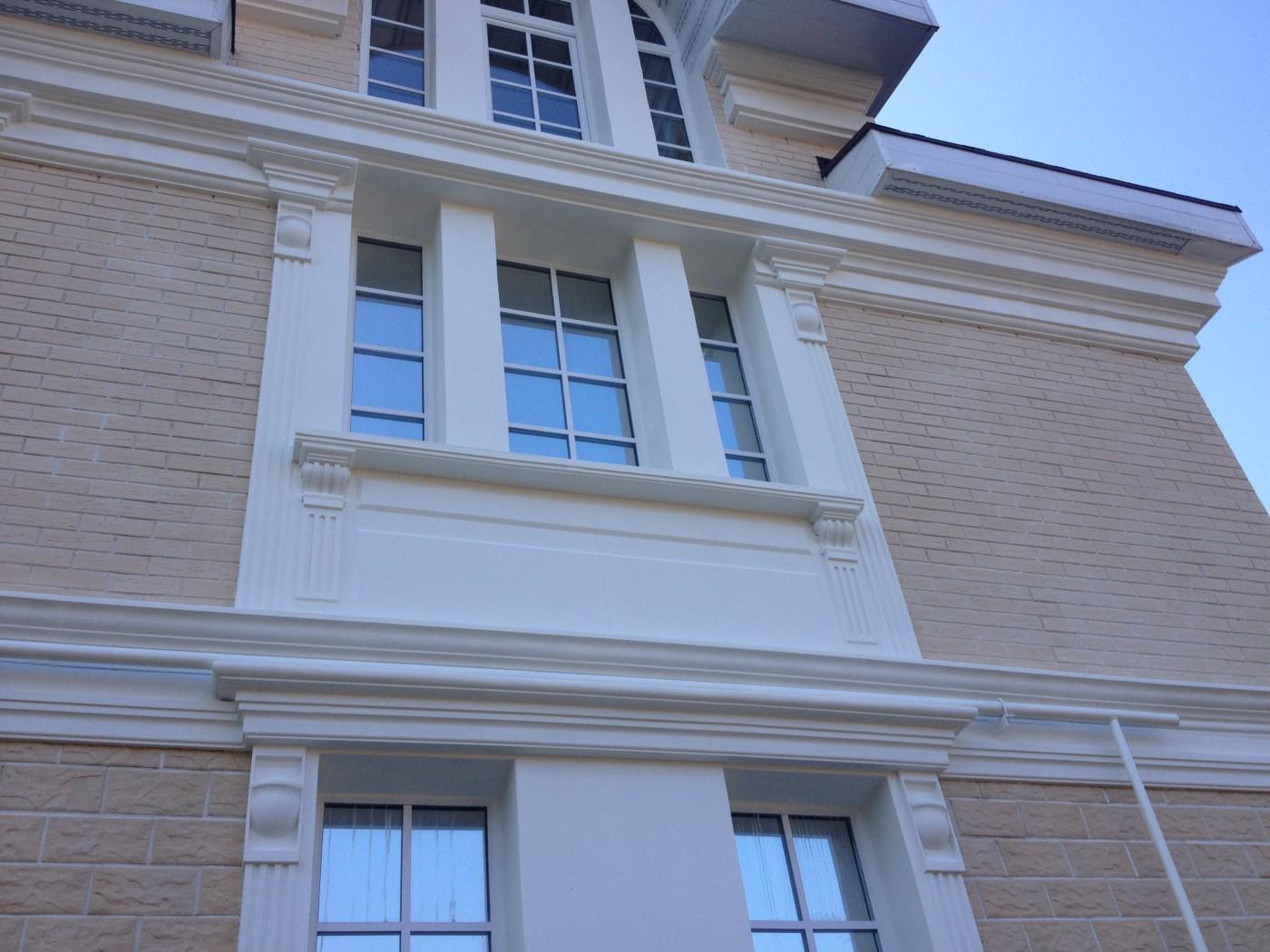 Фасадный декор из пенопласта своими руками 97
